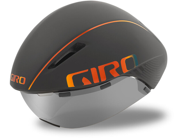 Giro Aerohead MIPS Casco, matte grey firechrome